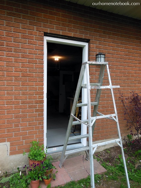 A new back door our home notebook for What is a brick mold on an exterior door
