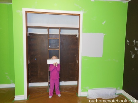 Kids Room Makeover - Getting ready for paint