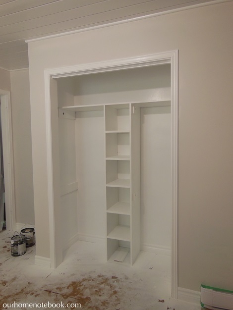 Exceptional Kids Room Makeover   Painted Closet