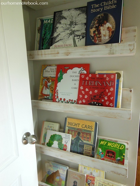 Picture Book Shelves Close Up
