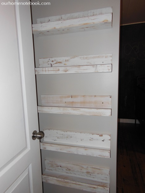 Picture Books Shelves - Paint finish